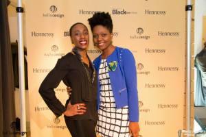 Avec Clothilde N'Dri, coordonnatrice des évènements BallaDesign et du Black Expo Design