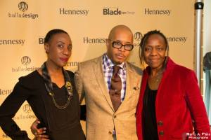 Clothilde N'Dri & Yves de Lima d'AMA Design, avec Hinda Abdelkrim, designer de Symbiose.